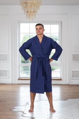 Мужские вафельные халаты Casual