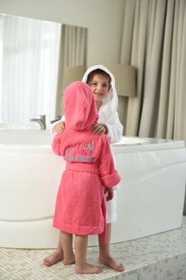 Детские халаты с капюшоном Comfort махровый