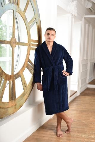 Мужские велюровые халаты Велюровый халат серии Premium