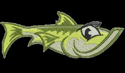 Рисунок для вышивки Большая рыба